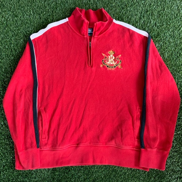 Polo by Ralph Lauren Other - 🏇Polo Ralph Lauren MCMLXVII Red 1/4 Zip